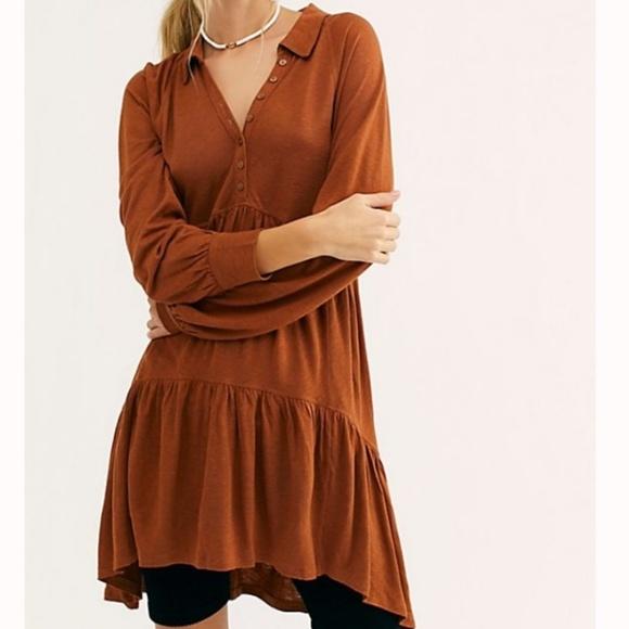 Free People Dresses & Skirts - Free People Best Girl Tunic Swing boho Dress New